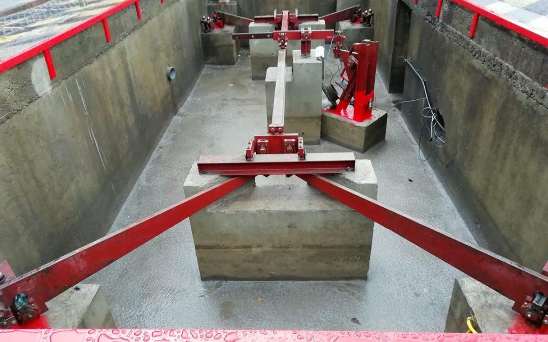 Rénovation complète d'un pont bascule mécanique